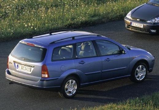 FORD Focus II kombi niebieski jasny tylny prawy