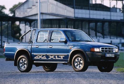 FORD Ranger I pickup niebieski jasny przedni prawy