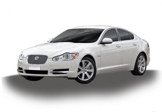 JAGUAR XF I sedan biały