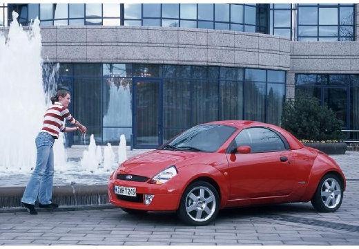 FORD Streetka roadster czerwony jasny przedni lewy