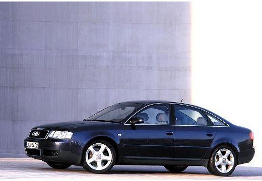AUDI A6 sedan czarny przedni lewy