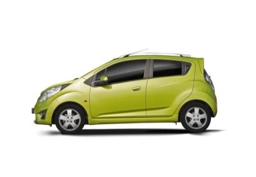 CHEVROLET Spark II hatchback zielony boczny lewy
