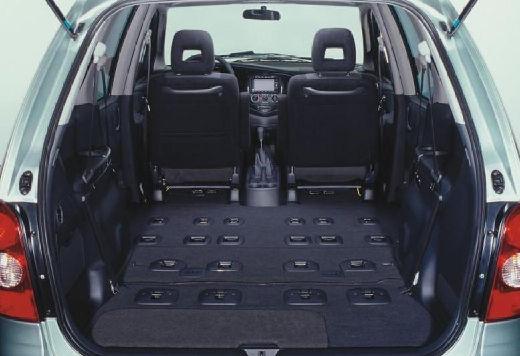 MAZDA MPV III van silver grey przestrzeń załadunkowa