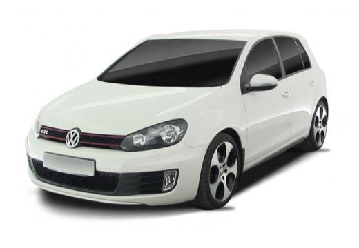 VOLKSWAGEN Golf VI hatchback biały