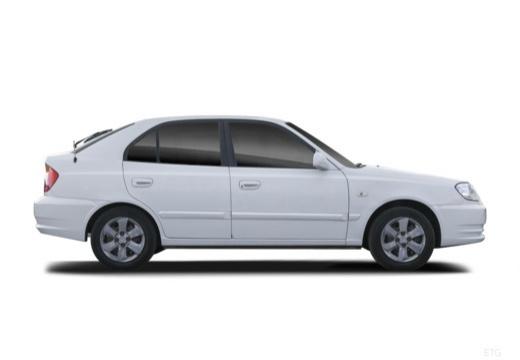 HYUNDAI Accent III hatchback boczny prawy