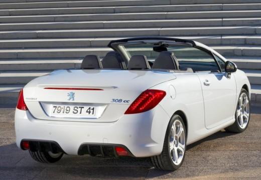 PEUGEOT 308 CC I kabriolet biały tylny prawy