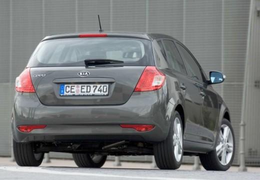 KIA Ceed II hatchback silver grey tylny prawy