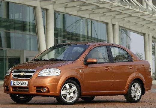 CHEVROLET Aveo II sedan pomarańczowy przedni lewy
