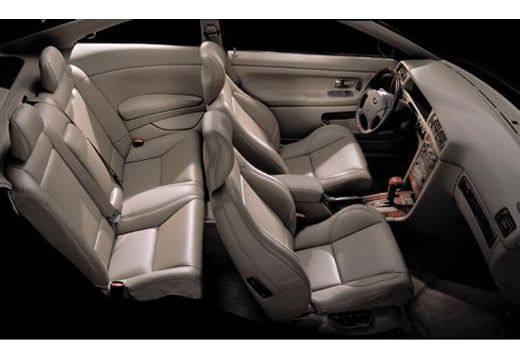 VOLVO C70 coupe wnętrze