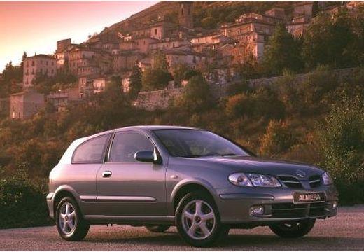 NISSAN Almera II 1.5 Style Hatchback I 90KM (benzyna)