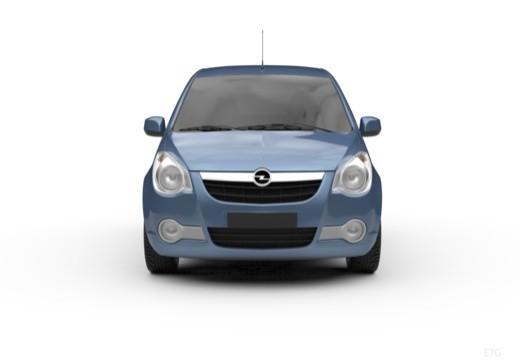 OPEL Agila III hatchback przedni