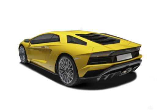 LAMBORGHINI Aventador coupe tylny lewy