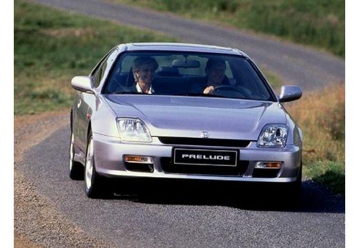 HONDA Prelude coupe silver grey przedni