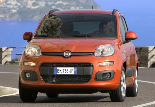 FIAT Panda hatchback czerwony jasny przedni lewy