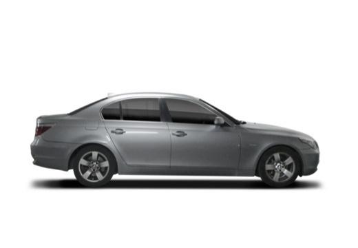 BMW Seria 5 sedan boczny prawy