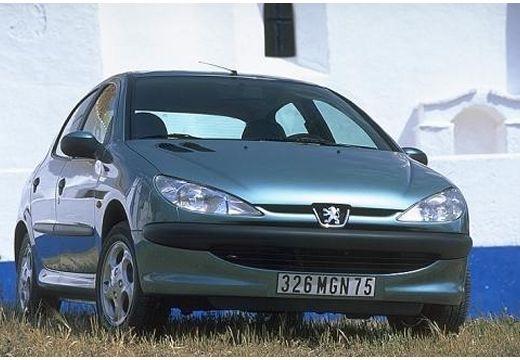PEUGEOT 206 I hatchback niebieski jasny przedni prawy