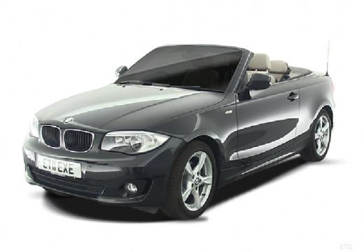 BMW Seria 1 kabriolet szary ciemny
