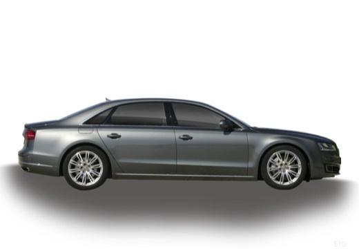 AUDI A8 D4 II sedan boczny prawy