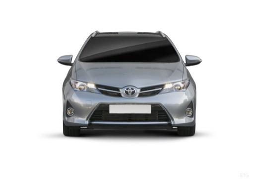 Toyota Auris kombi szary ciemny przedni
