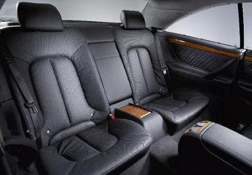 MERCEDES-BENZ Klasa CL 215 coupe wnętrze