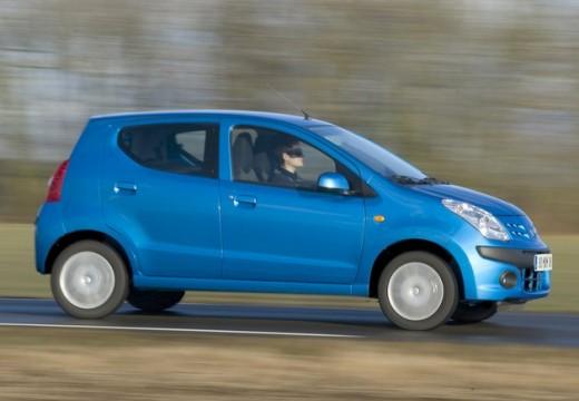 NISSAN Pixo hatchback niebieski jasny przedni prawy