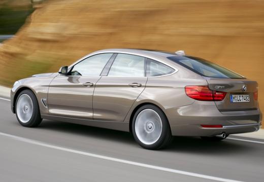 BMW Seria 3 Gran Turismo hatchback brązowy tylny lewy