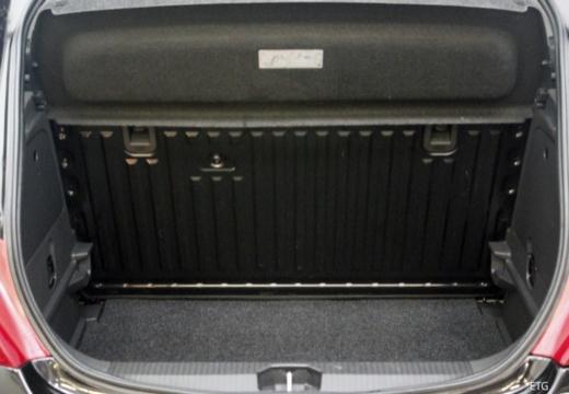 OPEL Corsa D I hatchback przestrzeń załadunkowa