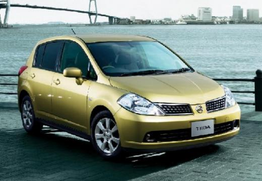 NISSAN Tiida 1.6 Tekna Hatchback I 110KM (benzyna)