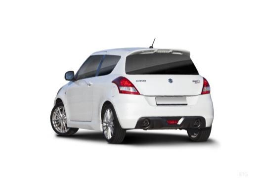 SUZUKI Swift II hatchback biały tylny lewy