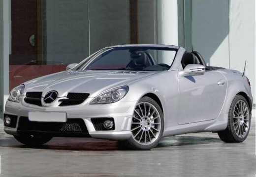 MERCEDES-BENZ Klasa SLK roadster silver grey