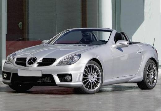 MERCEDES-BENZ Klasa SLK SLK R 171 II roadster silver grey