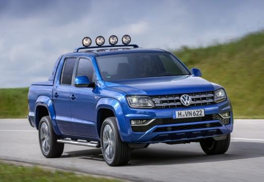 VOLKSWAGEN Amarok II pickup niebieski jasny przedni prawy