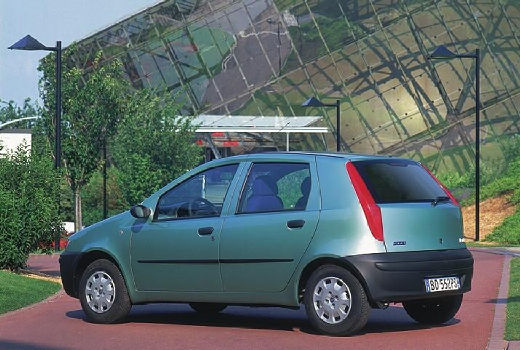 FIAT Punto II I hatchback zielony jasny tylny lewy
