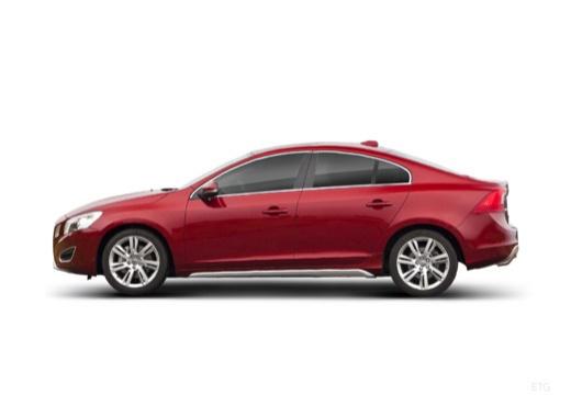VOLVO S60 IV sedan czerwony jasny boczny lewy
