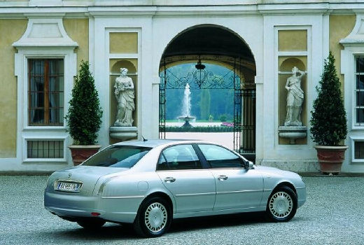 LANCIA Thesis sedan silver grey tylny prawy