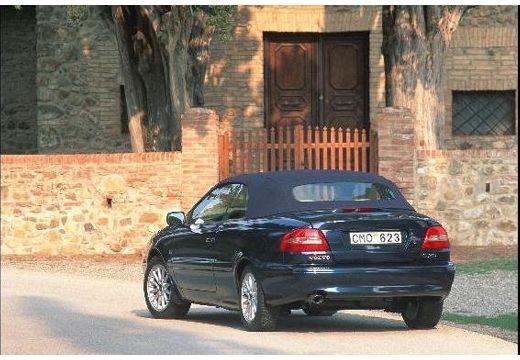 VOLVO C70 Cabrio I kabriolet czarny tylny lewy