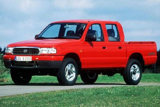 MAZDA B-seria pickup czerwony jasny przedni lewy