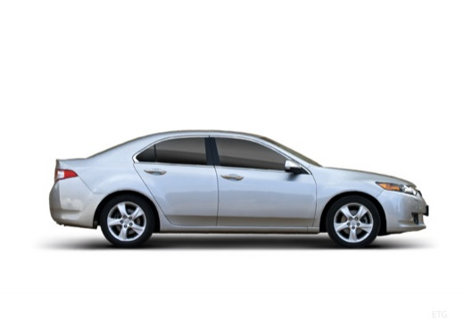 HONDA Accord VII sedan silver grey boczny prawy