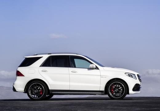 MERCEDES-BENZ Klasa GLE 292 hatchback biały boczny prawy