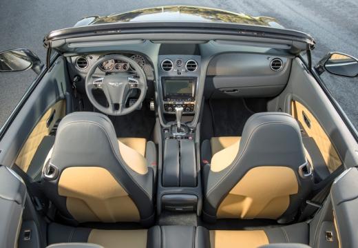 BENTLEY Continental GTC II kabriolet wnętrze