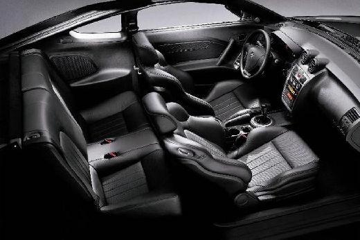 HYUNDAI coupe wnętrze