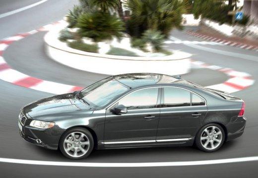 VOLVO S80 sedan czarny przedni lewy