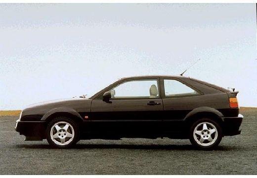 VOLKSWAGEN Corrado I coupe czarny boczny lewy
