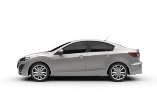 MAZDA 3 III sedan boczny lewy