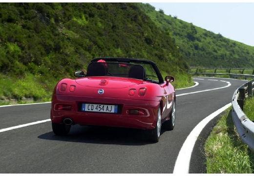 FIAT Barchetta kabriolet czerwony jasny tylny prawy