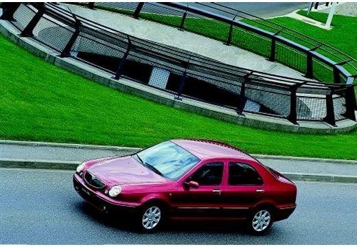 LANCIA Lybra I sedan bordeaux (czerwony ciemny) przedni lewy