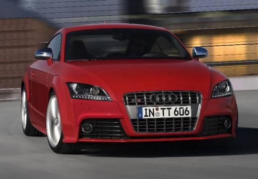 AUDI TT I coupe czerwony jasny przedni prawy