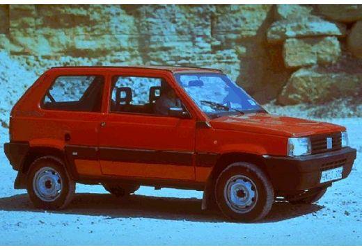 FIAT Panda I hatchback czerwony jasny przedni prawy