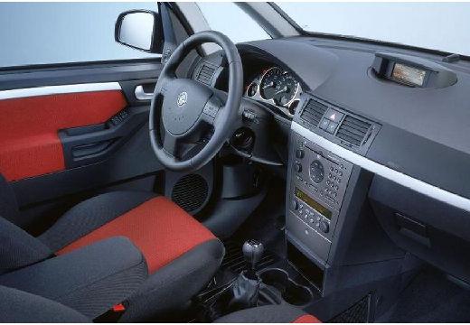 OPEL Meriva hatchback tablica rozdzielcza