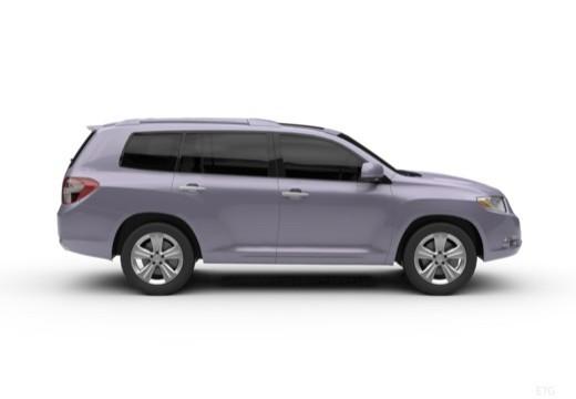 Toyota Highlander kombi boczny prawy